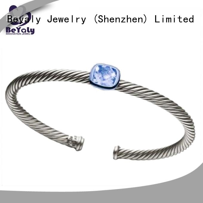 BEYALY High-quality cubic zirconia bangle bracelet company for advertising promotion