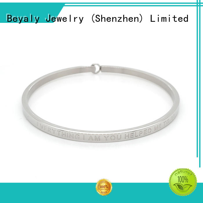 BEYALY popular sterling cuff bracelets company for advertising promotion