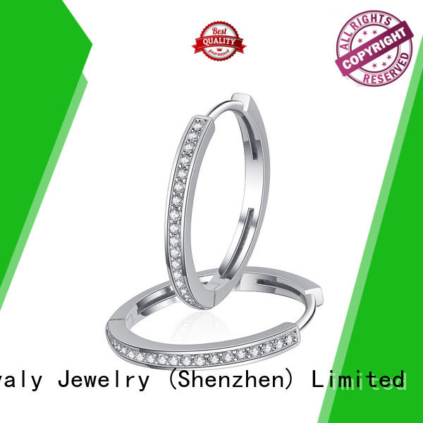 BEYALY design circle stud earrings supplier for exhibition