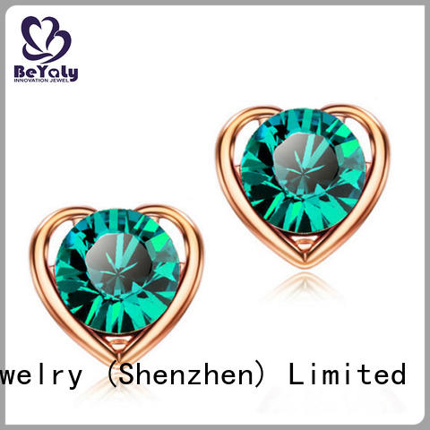 BEYALY Wholesale small diamond stud earrings for cartilage for business for advertising promotion