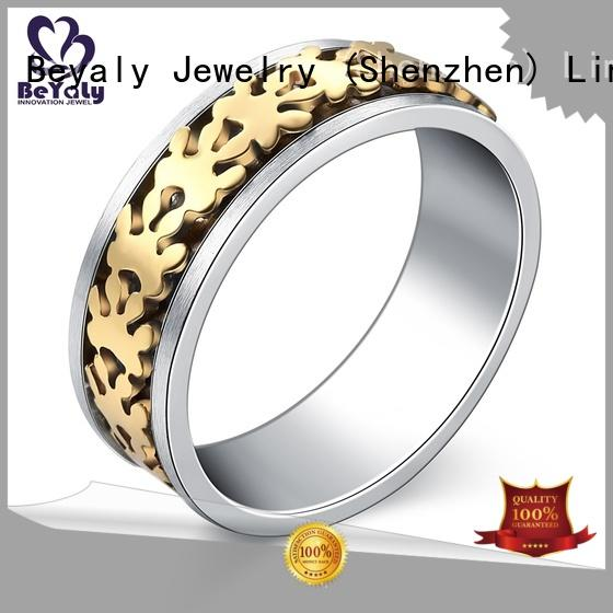 BEYALY jewelry gold inital ring for business for wedding
