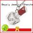 BEYALY modern silver clover pendant online for women