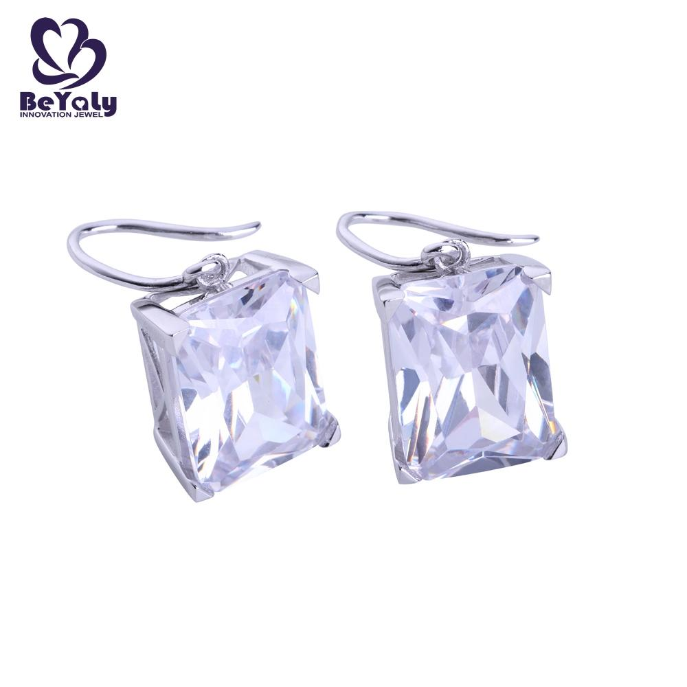 BEYALY shaped zircon earring supplier for business gift-1