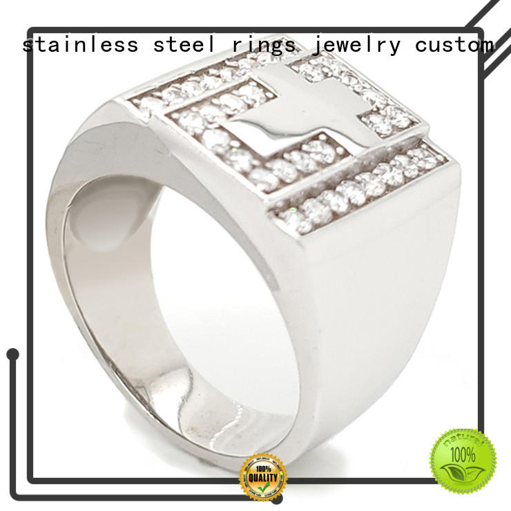 BEYALY customized sterling silver ring for business for women