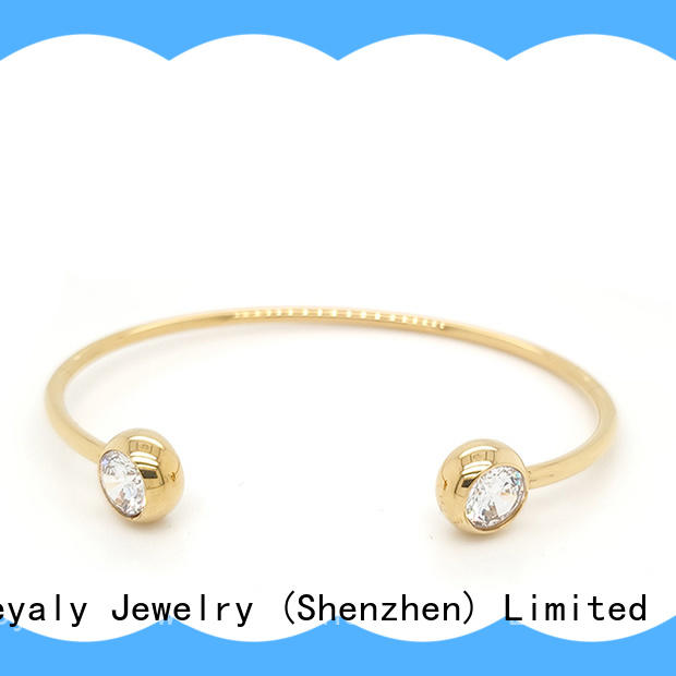 BEYALY Wholesale sterling silver stackable bangle bracelets Suppliers for advertising promotion