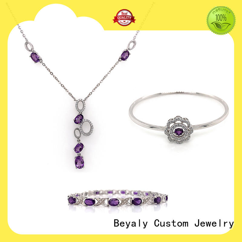 Wholesale necklace and bracelet set factory for ceremony