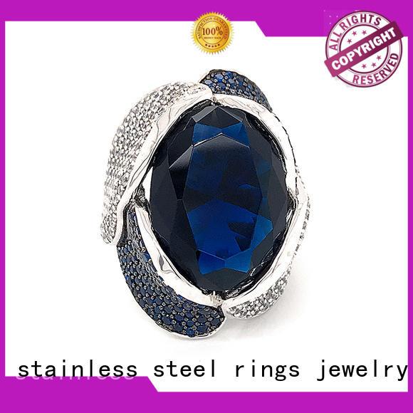 BEYALY Latest platinum diamond band ring factory for wedding