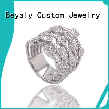 Wholesale best proposal ring design silver for business for daily life
