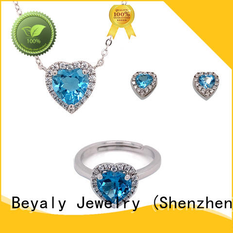 BEYALY Custom diamond necklace and earring set Suppliers