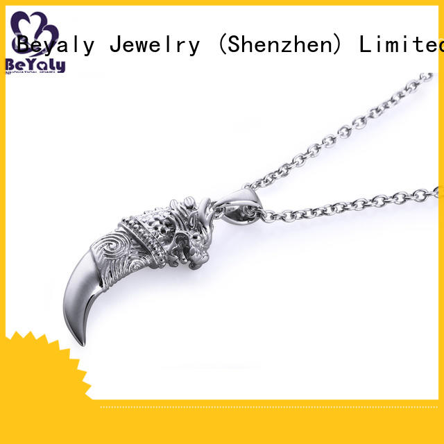 BEYALY silver necklaces Suppliers