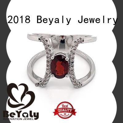 BEYALY customized initial ring online for women