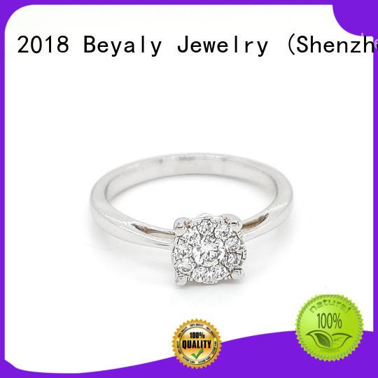BEYALY diamond platinum diamond rings sets for wedding