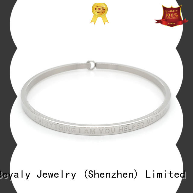 BEYALY cubic cuff bangle manufacturers for anniversary celebration
