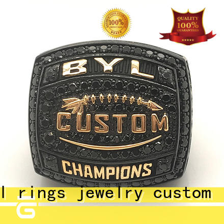 BEYALY brass champion ring Suppliers for national chamions