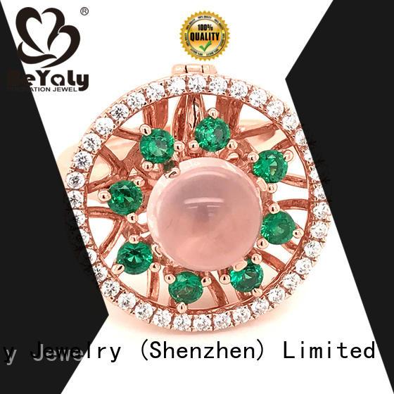 BEYALY diamond sterling silver ring design for men