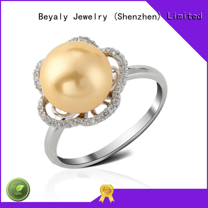 BEYALY numerals initial ring company for daily life