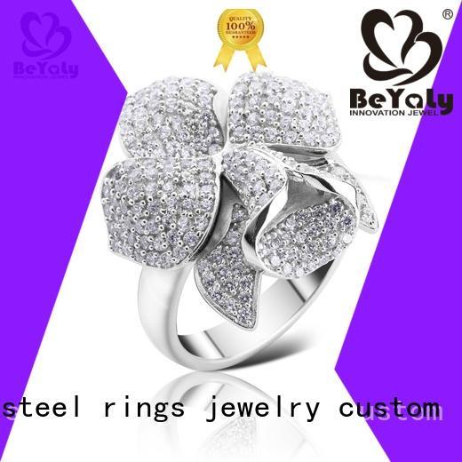 BEYALY beautiful Common ring platinum for wedding