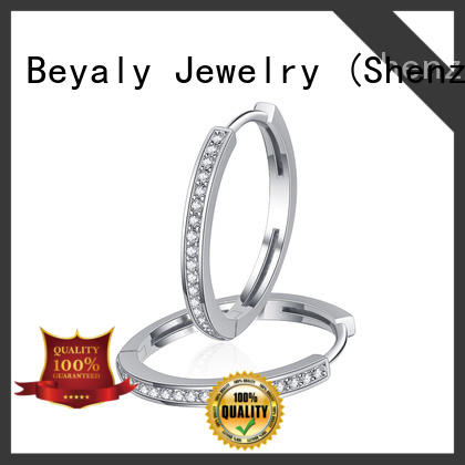 BEYALY fashion cz earring Supply for anniversary celebration