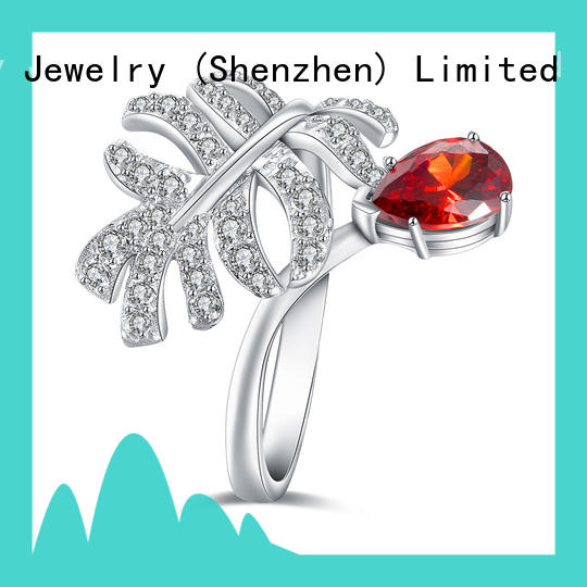 Latest top diamond engagement ring designers silver Suppliers for women