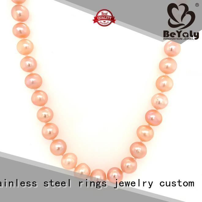 BEYALY tag necklaces for business for wife