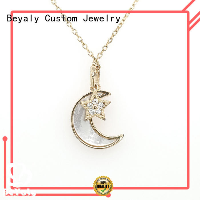 Best silver pendant necklace pendants Suppliers for wife