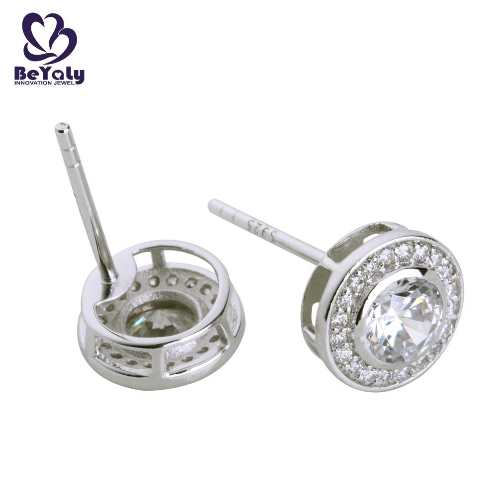 BEYALY popular circle earring design for advertising promotion-1