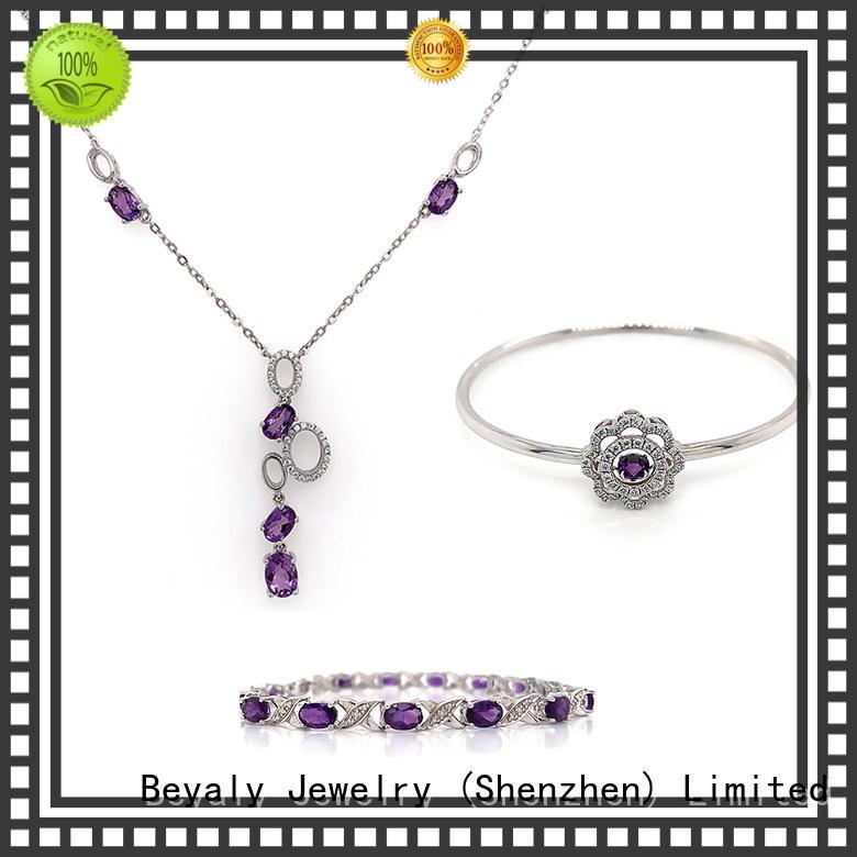 BEYALY diamond bracelet and earring set Suppliers