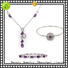 BEYALY diamond bracelet and earring set Suppliers