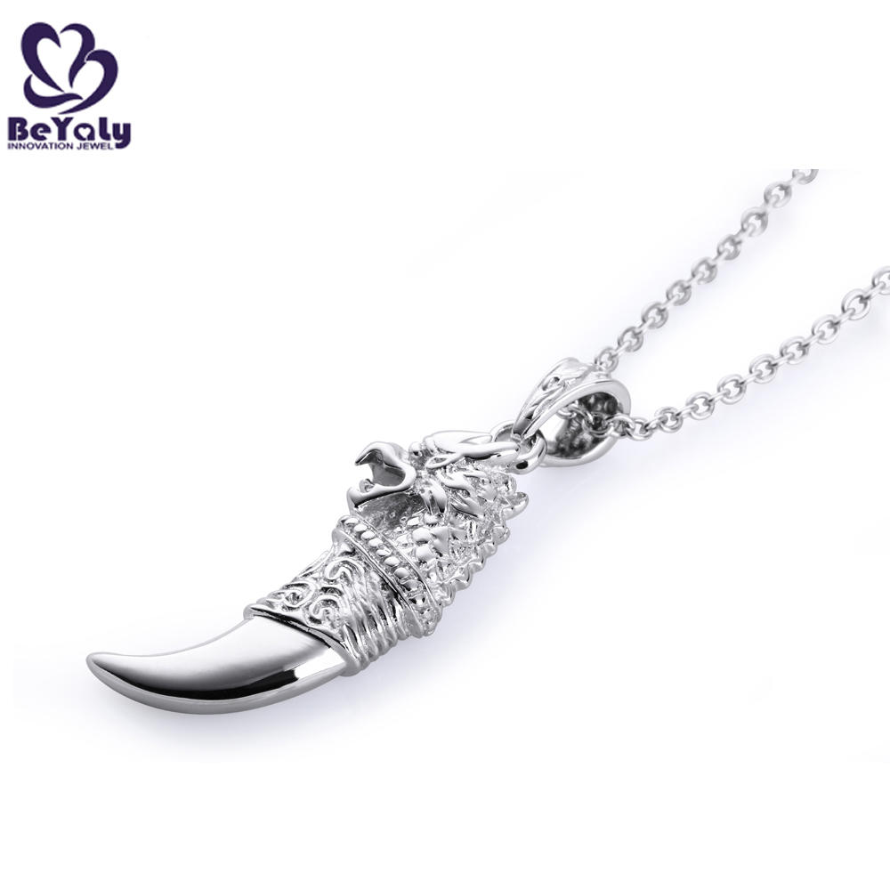 BEYALY delicate dog tag necklace Suppliers for wife-1