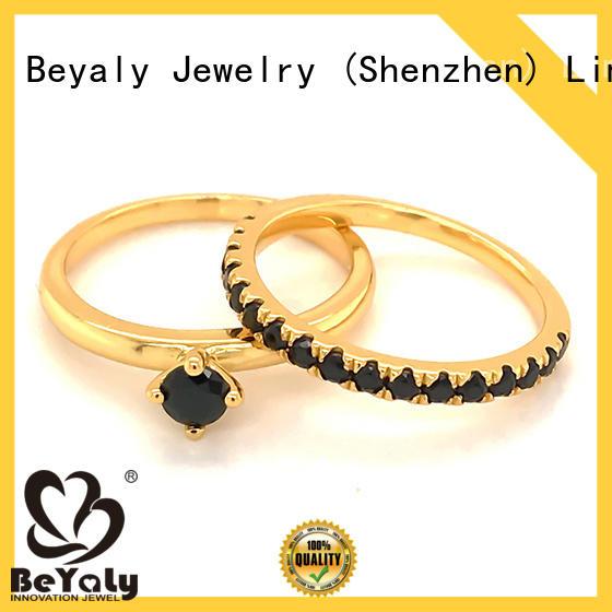 BEYALY Custom platinum diamond rings Supply for women