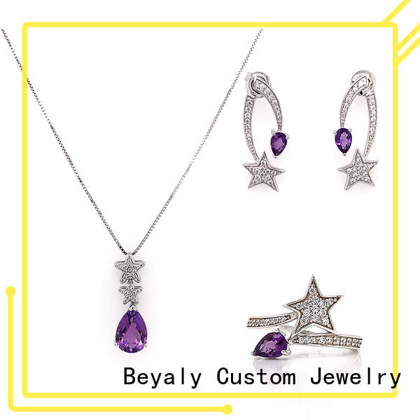 BEYALY white costume jewelry sets Supply for advertising promotion