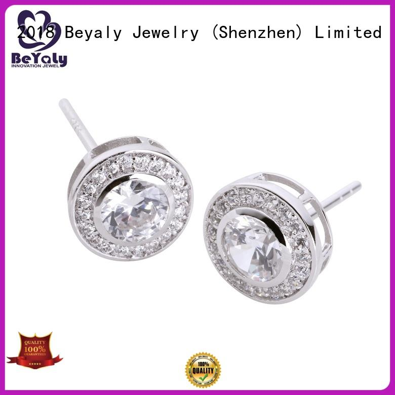 BEYALY popular circle earring design for advertising promotion