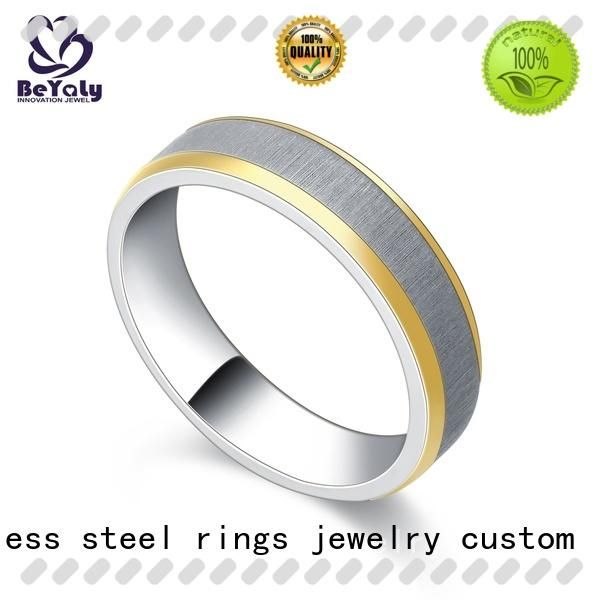 BEYALY claw initial ring Supply for men