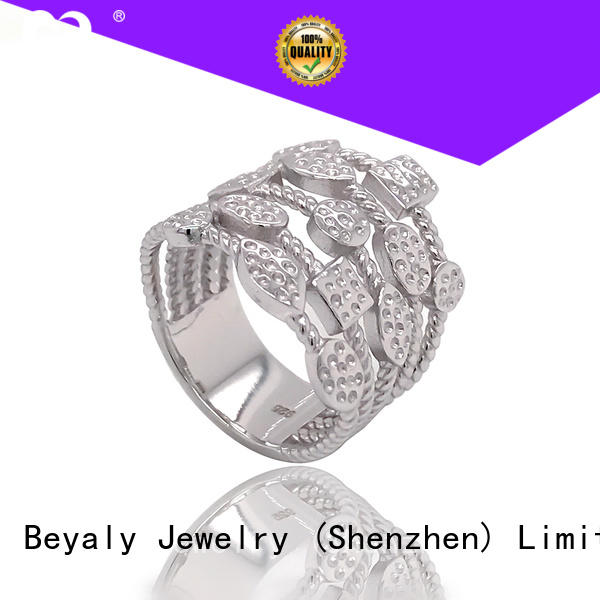 Wholesale platinum ring plating factory for women
