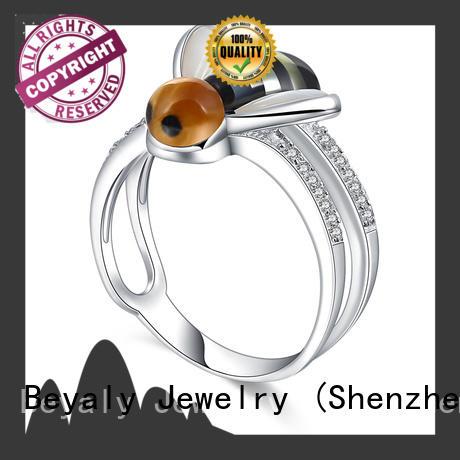 diamond sterling silver ring zircon design for men