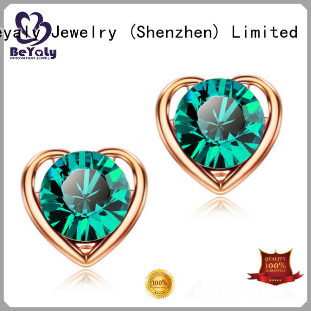 special cz earring silver sets for advertising promotion