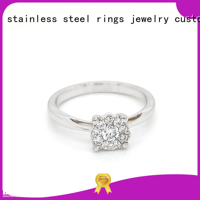 BEYALY Latest platinum ring for business for daily life