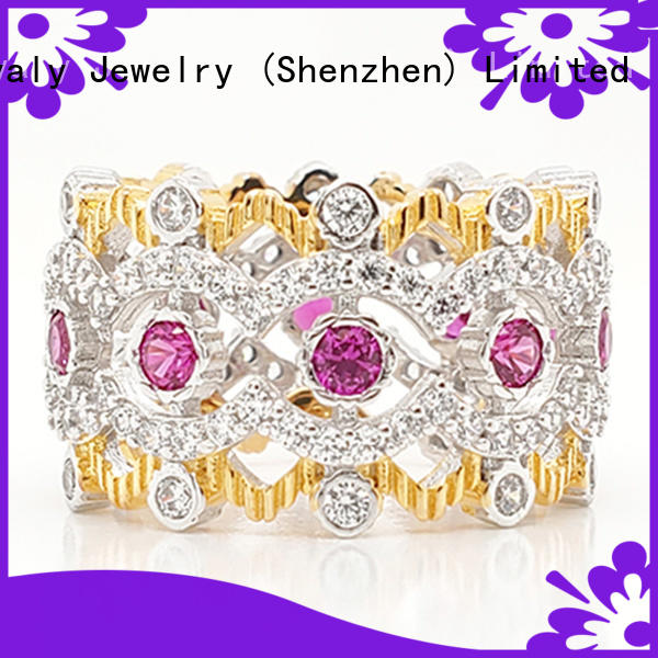 BEYALY crown ring white queen Suppliers for women