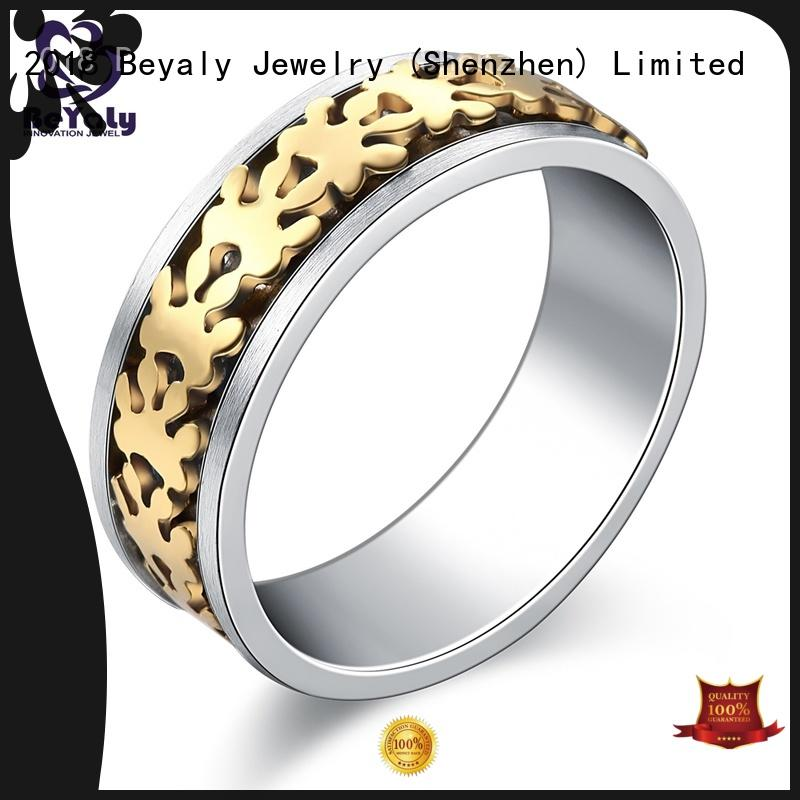 BEYALY simple bands for anniversary