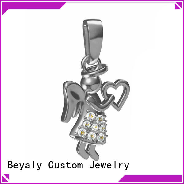 custom silver charm sale clavicle Supply