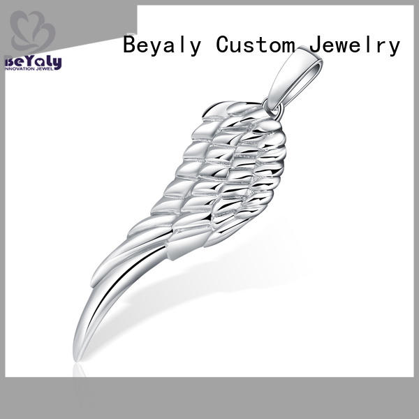 BEYALY color silver clover pendant manufacturers for ladies