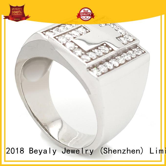 BEYALY diamond platinum ring design for wedding