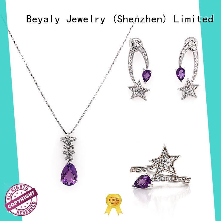 BEYALY bridesmaid jewelry sets factory
