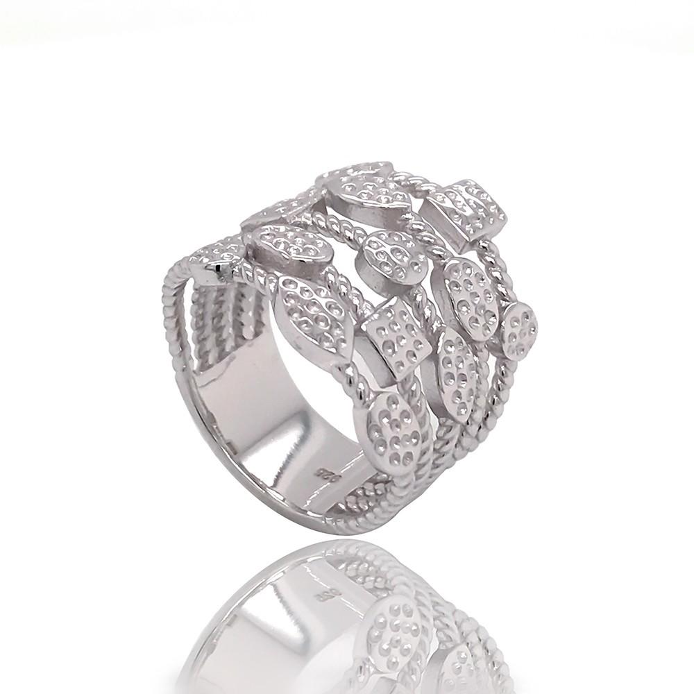 Wholesale best proposal ring design silver for business for daily life-1