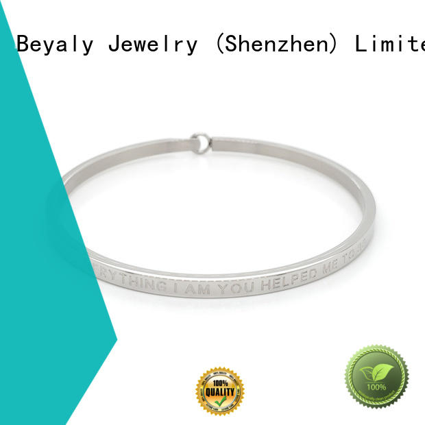 BEYALY adjustable cubic zirconia bracelet sets for business gift