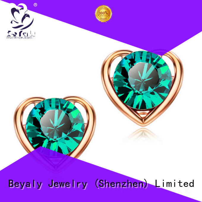 BEYALY Top circle earring company for advertising promotion