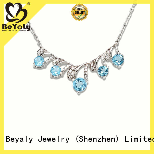 BEYALY 18k dog necklace factory for women