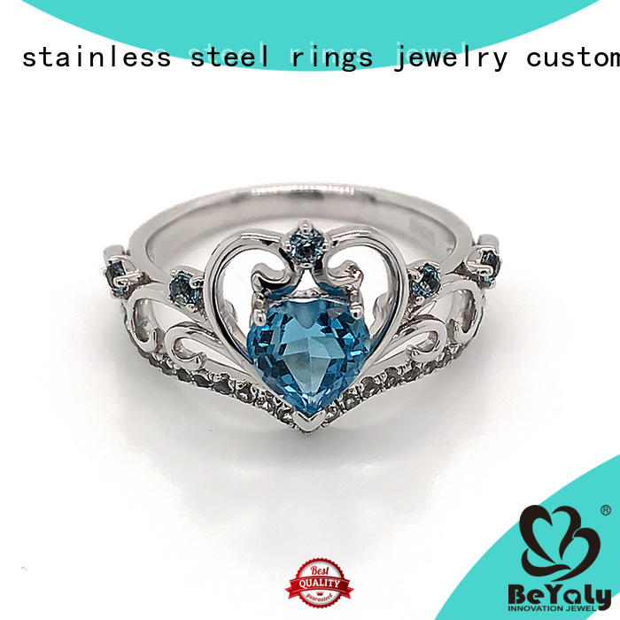 BEYALY rings platinum diamond rings manufacturers for women