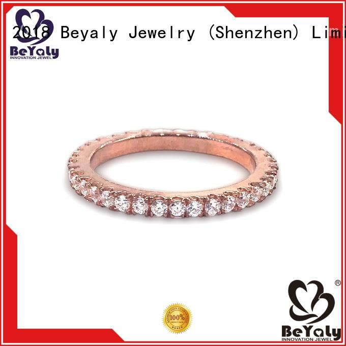 BEYALY gold platinum diamond rings sets for women