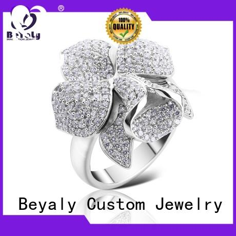 BEYALY simple most popular ring setting manufacturers for women